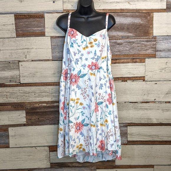 Old Navy Dresses & Skirts - Old Navy White Floral Sundress sz XL/ TG